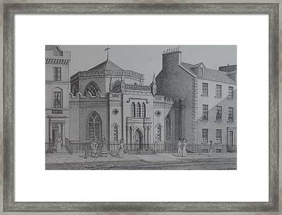 St Georges Chapel Edinburgh Framed Print