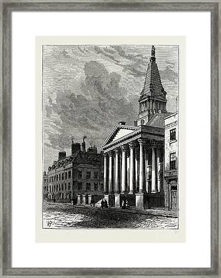 St. Georges Church, Bloomsbury, London, Uk Framed Print by Litz Collection