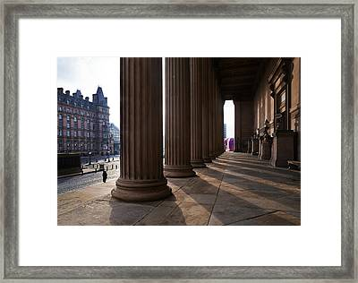 St Georges Hall, Lime Street Framed Print by Panoramic Images