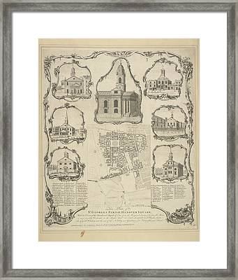 St. George's Parish Framed Print by British Library