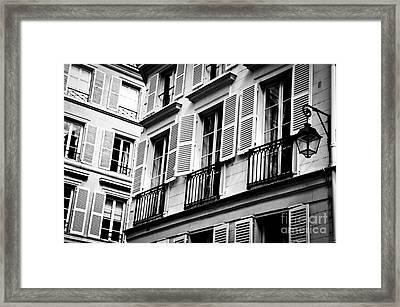 St Germain Des Pres Framed Print