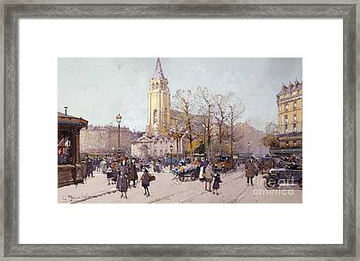 St. Germaine De Pres Framed Print