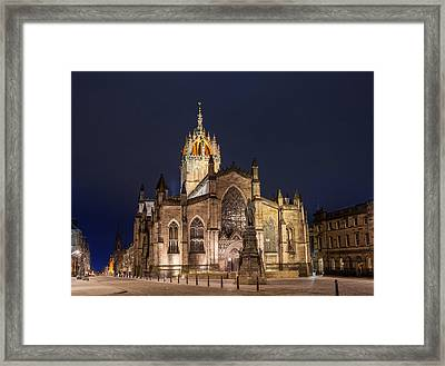St. Giles Cathedral Framed Print