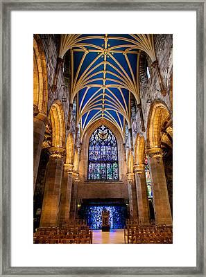 St. Giles Entrance Framed Print