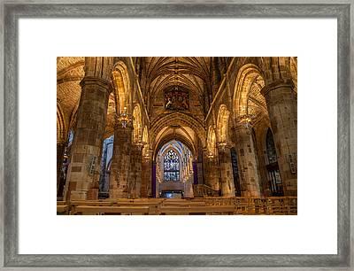 St. Giles Interior Framed Print