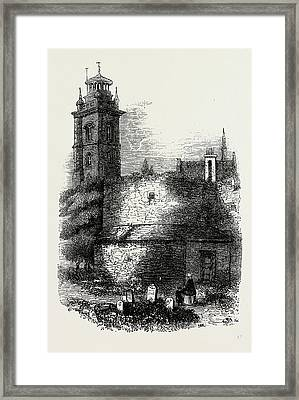 St. Giless, Cripplegate Framed Print by Litz Collection