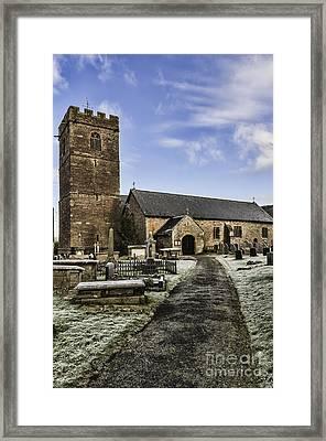 St Gwendolines Church Talgarth 4 Framed Print