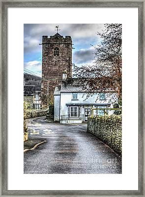 St Gwendolines Church Talgarth Framed Print