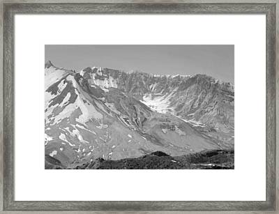 St. Helen's Crater Framed Print by Tikvah's Hope
