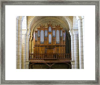 St Hilaire Poitiers Framed Print