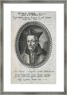 St. Ignatius Loyola Framed Print by British Library