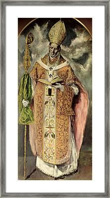 St Ildefonso Framed Print