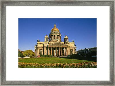 St. Issac's Cathedral Framed Print by Buddy Mays