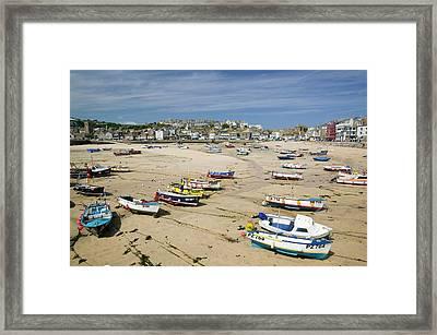 St Ives Framed Print by Ashley Cooper