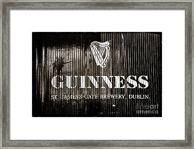 St. James Gate Brewery Framed Print