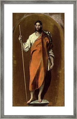 St James The Greater Framed Print