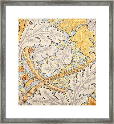 St James Wallpaper Design Framed Print by William Morris