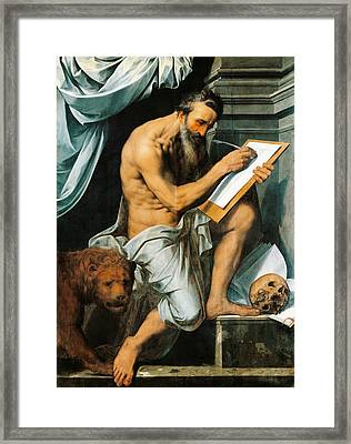 St. Jerome Framed Print