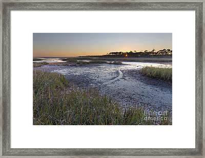 St Joe Bay At Cape San Blas Framed Print by Twenty Two North Photography