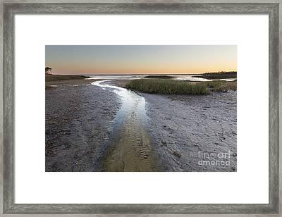 St Joe Bay From Cape San Blas Florida Framed Print by Twenty Two North Photography