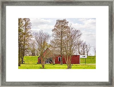 St Joe Louisiana Framed Print by Steve Harrington
