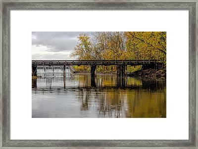 St Joe River 4 Framed Print by John Crothers