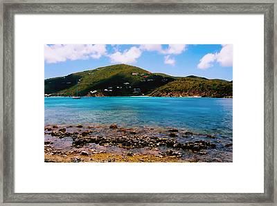 St John Bay Framed Print by Kara  Stewart