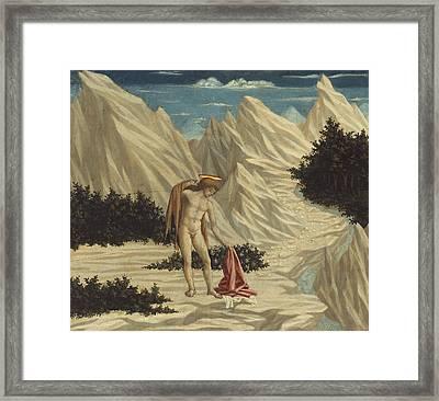 St. John In The Desert Framed Print