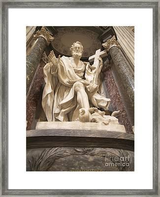 St John Lateran Basilica Framed Print