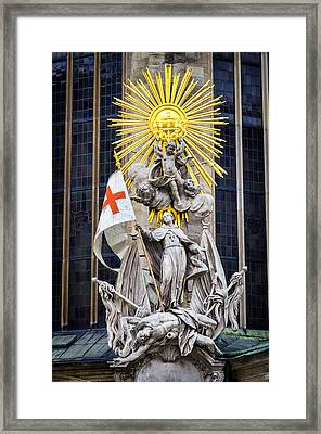 St. John Of Capistrano In Vienna Framed Print