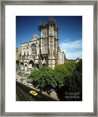 St. John The Divine Framed Print