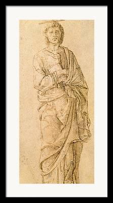 Andrea Drawings Framed Prints