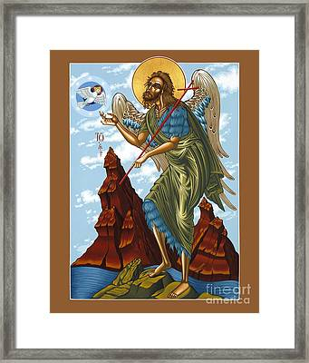 St. John The Forerunner Also The Baptist 082 Framed Print