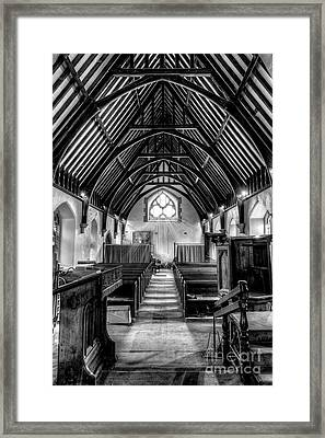 St John Ysbyty Ifan Framed Print by Adrian Evans