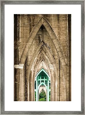 St. Johns Arches Framed Print