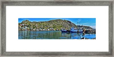 St. John's Battery Panorama Framed Print