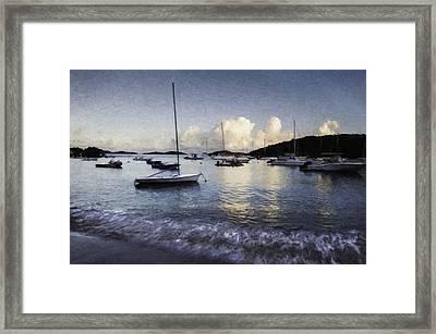 St. John's Bay Framed Print