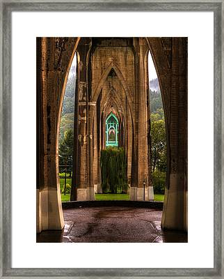 St. Johns Bridge Framed Print