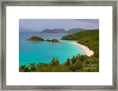 St Johns Framed Print by Carey Chen
