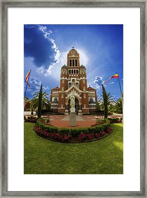 St Johns Cathedral Framed Print by Madison Baltodano