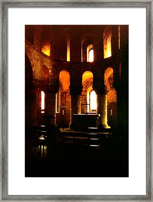 St. John's Chapel In The Tower Of London Framed Print