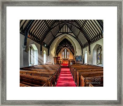 St Johns Church Framed Print by Adrian Evans