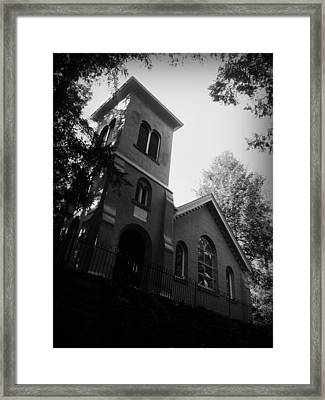 St Johns In The Wilderness Flat Rock Nc Framed Print