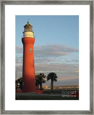 St. Johns River Lighthouse II Framed Print