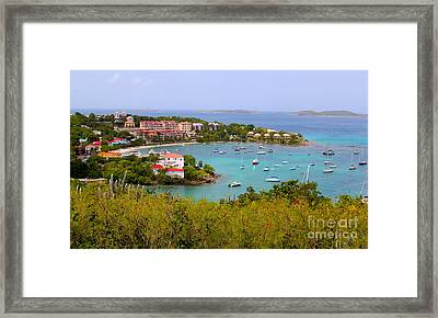 St John's View Framed Print by Carey Chen