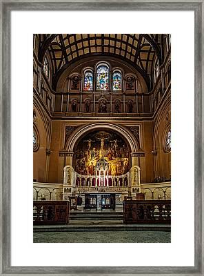 St. Joseph Church Altar Framed Print
