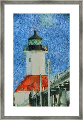 St. Joseph Lighthouse Lake Michigan Framed Print by Dan Sproul