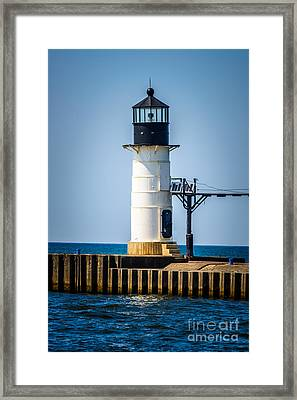 St. Joseph Outer Lighthouse Photo Framed Print