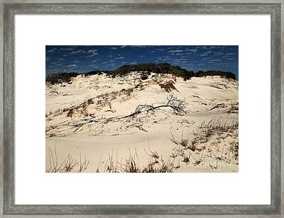 St. Joseph Sand Dunes Framed Print by Adam Jewell