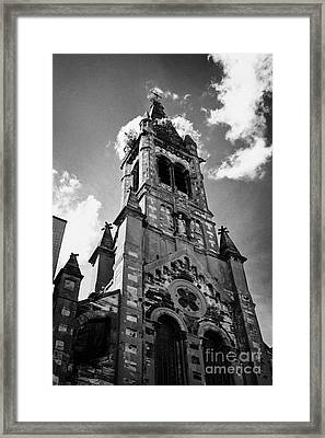 St Josephs Chapel Sailortown Belfast Northern Ireland Uk Framed Print by Joe Fox